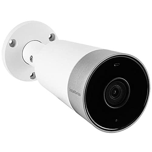 Câmera de Vídeo Externa Inteligente intelbras Wi-Fi Full HD iM5 Branca