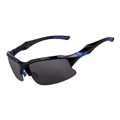 Personalidad a-myt, chic Gafas de sol para montar al aire libre Hombres que conducen gafas de sol Las gafas de pesca pueden equiparse con espejos de viento de deportes de miopía que corren deportes Pr