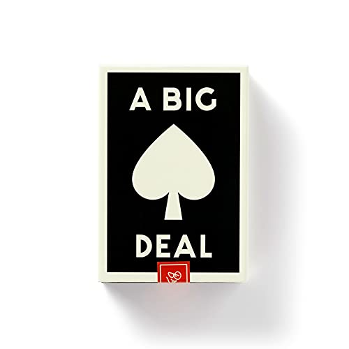 A Big Deal Giant Playing Cards