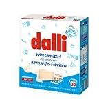 Dalli Waschmittel 20° - 95 ° mit natürlichen Kernflocken Vollwaschmittel 1,95 KG