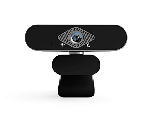 NOV8Tech Webcam with Microphone, Full HD 1080P Web Camera, USB Plug & Play for Desktop PC & Laptop Windows & MacOS, Facial-Enhancement Technology for Video Live Streaming, Video Conferencing, Gaming