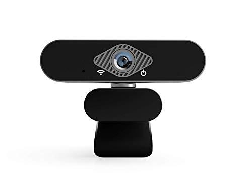NOV8Tech Webcam Full HD 1080p Webcam, Plug & Play, USB mit Mikrofon für Videokonferenz, Live-Streaming, Videoanruf, Aufnahme, Gaming auf Desktop-PC, Computer, Laptop, Windows 10/8/7/XP MacOS X