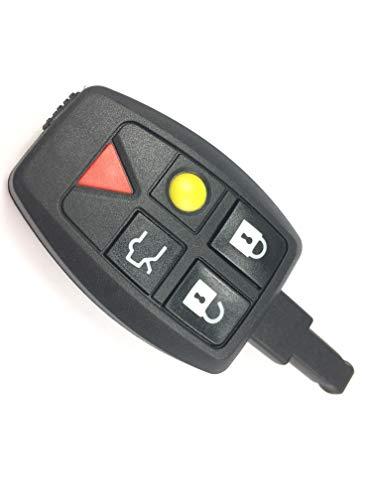 Automobile Locksmith - Carcasa para llave remota de coche para Volvo S40, V50, V70, C70 y S60
