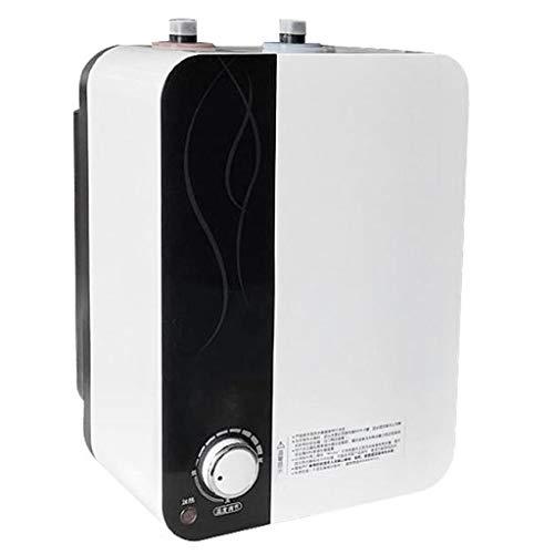 LY 220V 1500W Calentador De Agua Eléctrico 6.6L Pequeño Tesoro De La Cocina Caliente Instantánea Tipo De Almacenamiento De Calentador De Agua Eléctrico Cocina De La Casa Baño Calentador De Agua