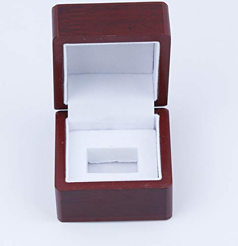 LIEOAGB Mens Ring Box Rugby Basketball Championship Rings Jewelry Gift Case Fans Gifts BOX