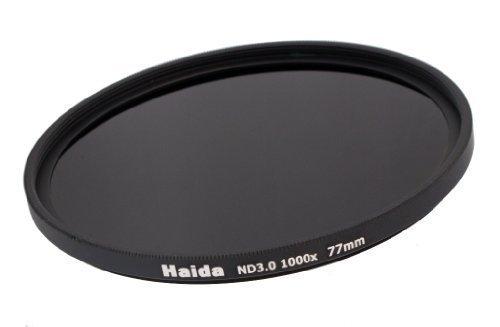 HAIDA Neutral Graufilter ND1000x 77mm inkl. Pro Lens Cap mit Innengriff