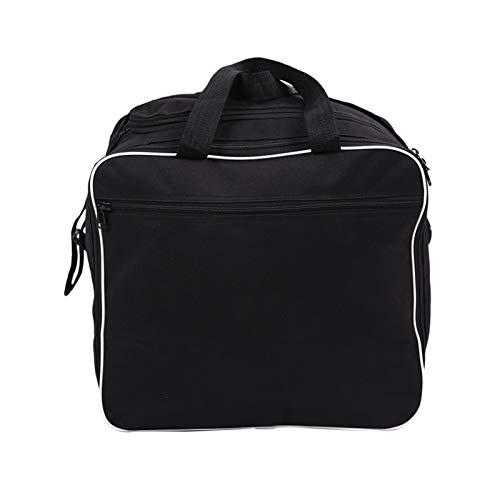 Ting Ting 38L Motorcycle Side Box Bag Bolsa de Forro Impermeable Maleta Bolsas de Hombro Multiusos Ajuste para R1200GS R1250GS ADV (Color : Black)