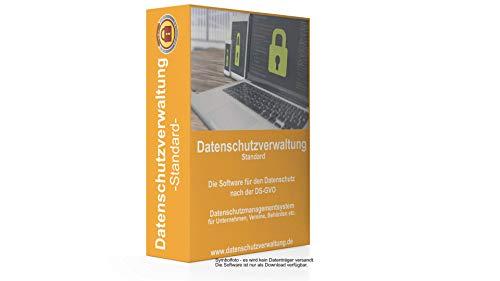 Datenschutzverwaltung Standard - Die Software für den Datenschutz nach der DS-GVO