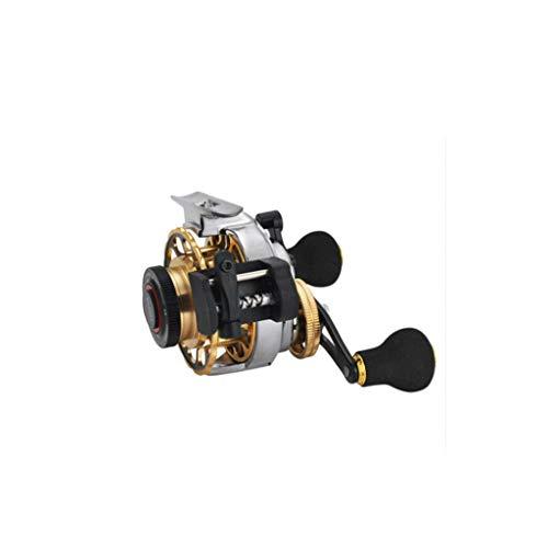 TJLSS Línea automática Balsa Pesca Rueda magnética con una Sola tecla Lento hacia Abajo Posición automática de Salida con la Rueda de Descarga Pesca