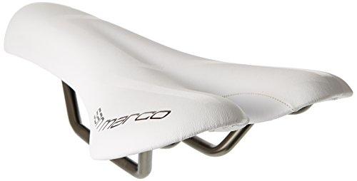 Selle San Marco Aspide Racing Triathlon Sattel, weiß