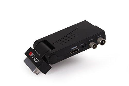 Opticum HD Lion Air 2 DVB-T2 H.265/HEVC Digitaler Terrestrischer Receiver schwarz