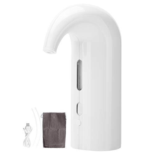 Decantador de vino, aireador de vino portátil, duradero sin ruido para el hogar del restaurante occidental (blanco, tipo torre inclinada de Pisa)