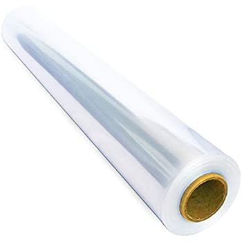 110 ft Clear Cellophane Wrap Roll  31.5 in x 110 ft  - Cellophane Roll - Clear Wrap Cellophane Bags - Clear Wrapping Paper to Wrap Gift Baskets - Clear Gift Wrap - Celophane Basket Wrap - Cello Wrap