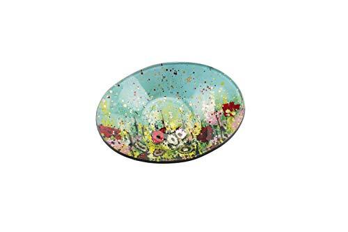 Wild Meadow - Cuenco Ovalado pequeño de Cristal, de CGB Giftware\'s Wild Meadow Range, Decorativo, Mesa y vajilla