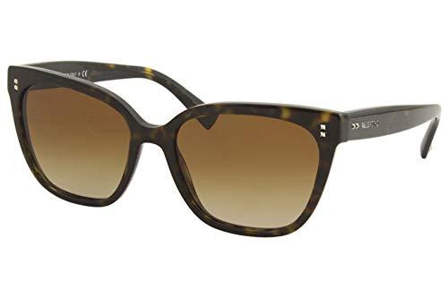 Valentino gafas de sol VA4070 500213 la habana brown tamaño de 55 mm de mujeres