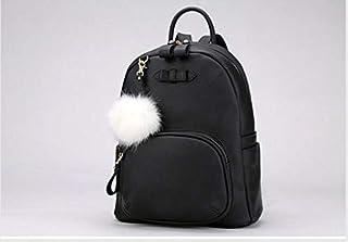 حقيبة ظهر من القطيفة بمقبض، لون سادة بتصميم قديم، 0CV950AN396