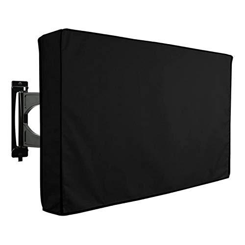 Funda TV Exterior Resistente al Agua y al Polvo Material de Calidad Compatible con Soportes TV Pared para Televisor de Plasma, LED y LCD de 22'' - 70'' -GAOGUIMEI Cubierta Antipolvo(Size:46-48inch)