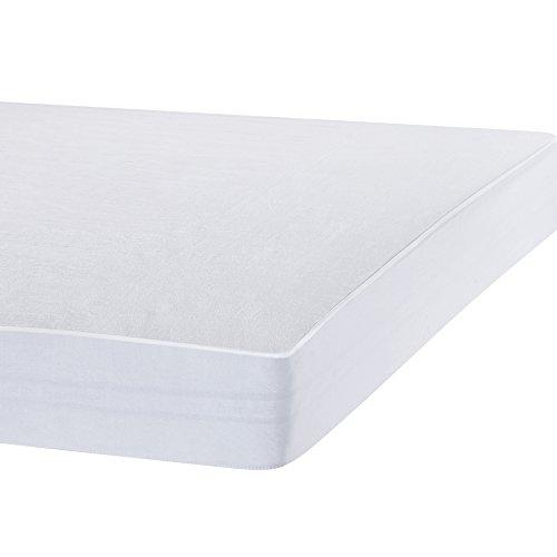 Bedecor Matratzenschoner Wasserdicht Wasserundurchlässige Matratzenauflage Molton 90x200 cm