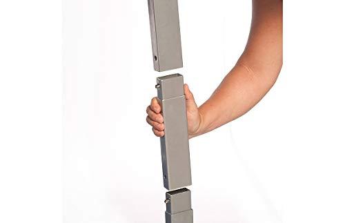 Disc-O-Bed Beinverlängerungsset Silber