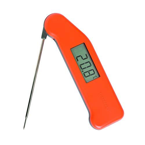 Termómetro de alimentos profesional Classic SuperFast Thermapen 3, color anaranjado