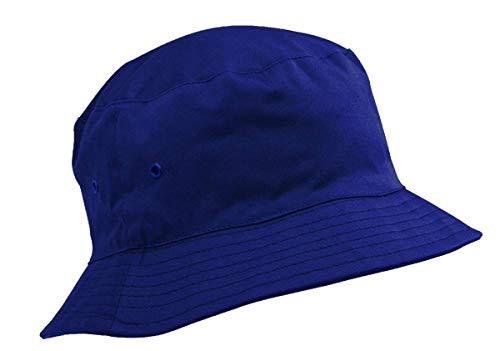Adventure Togs Kinder-Baumwollhut/Sonnenkappe, Alter 8-11Jahre, Jungen oder Mädchen Gr. 56 cm, königsblau