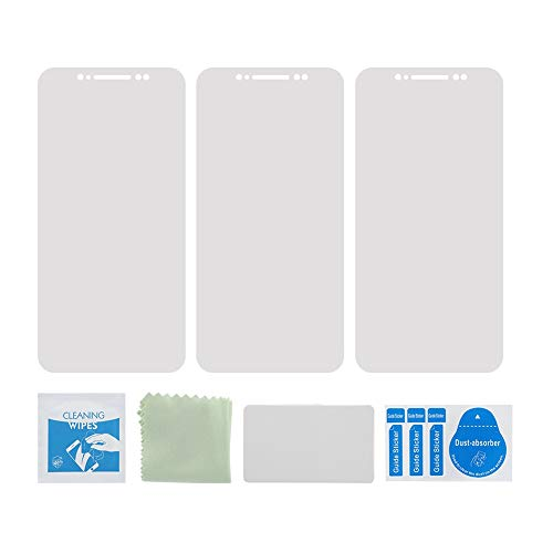 Richer-R アイフォン XS マックス 全面保護フィルム 水凝縮ハイドロゲルフィルム 携帯電話スクリーンプロテクター 高精細透明度フィルム 高透過率 気泡防止 iPhone XS MAX用