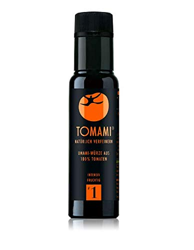 TOMAMI #1 (Umami) - 90 ml | Würze | INTENSIV-FRUCHTIG | umami, vegan, glutenfrei, laktosefrei, sojafrei