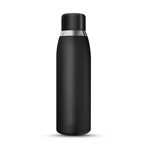 XASY Intelligente drinkfles, 500 ml vacuüm-isolatie van roestvrij staal, LCD-touchscreen, temperatuurweergave, drinkwater en water voor herinnering, warm en koud houden