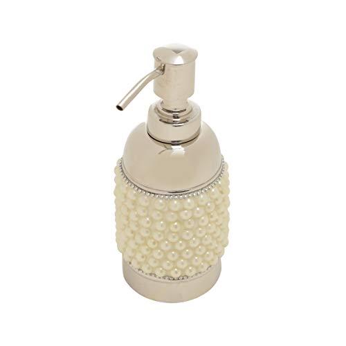 Porta Sabonete Líquido em Aço Inox Pérola Rojemac Cinza Inox