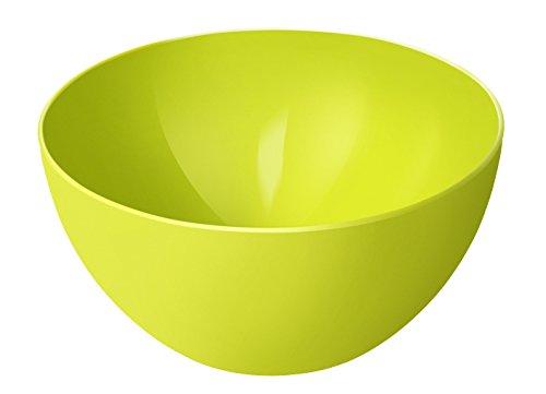Rotho Caruba Schüssel 3 l, Kunststoff (BPA-frei), grün, 3 Liter (22,5 x 22,5 x 11)