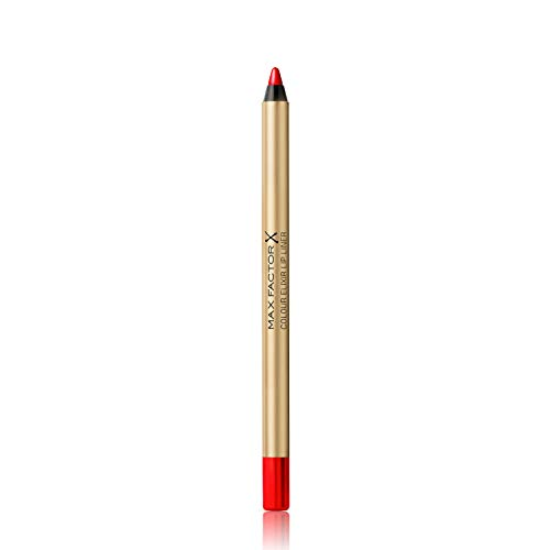 Max Factor Colour Elixir Lip Liner Red Rush 10 – Perfekt definierte Lippenkontur für...