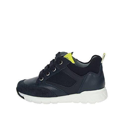 Sneaker Bambino Casual A923730M NeroGiardini Manaus Blu Comoda e Ammortizzata. Collezione Autunno Inverno 2019 2020.EU 30