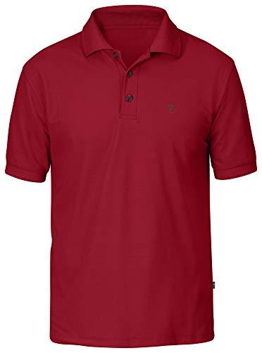 Fjallraven Crowley Pique Shirt, Deep Red, L Mens