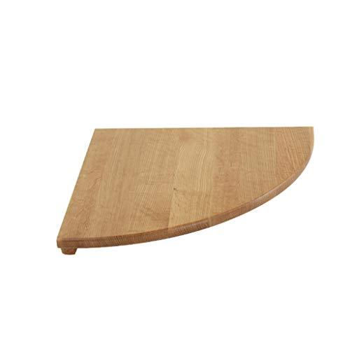 Drijvend rek van massief hout met houder voor wandmontage in de vorm van een ventilator voor de woonkamer. 22cm Hout