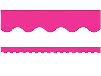 Teacher Created Resources Hot Pink Scalloped Border Trim  5582