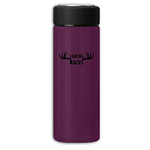 Ticpea I Like Big Racks Double Layer Vacuum Thermoses Vacuum Insulated Stainless Steel Cup Mug 350ml-1832