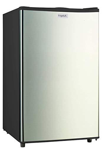 Frigelux - Mini Congélateur Bas Table Top TOPCV135NXA++ - 74L, Classe Énergétique A++ - Congélateur 4 Étoiles, Congélation 3.5kg/24h, 15h d'Autonomie - Pose Libre - Garantie 2 ans - Inox