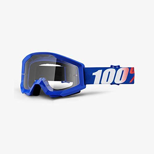 100%, Gafas de bicicleta Unisex adulto, Talla única, Morado (Purple/Transparent)