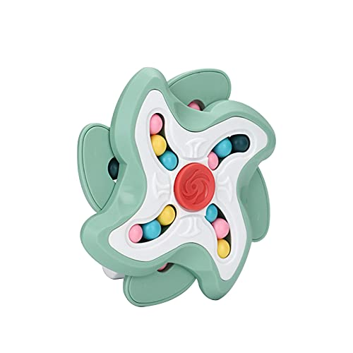 PERFECTHA Magic Cube FID-Get Toys, Spinning Magic Bean Game, Unisex Magic Bean Iq Game Toys para Mejorar la Capacidad de Pensamiento de los niños