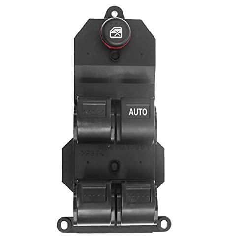 AutOcean Regulador de Interruptor de Ventana eléctrico Delantero Izquierdo Derecho para Honda Civic CR-V 2001-2005 35750-S5A-A02ZA 35750-S6A-A020ZA 35750S5AA02ZA