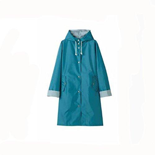 SXZHSM Regenjas Poncho Reizen Outdoor Leuke Licht Ademende Mode Jas Volwassen Wandelen Regenjas Poncho Waterdichte Regen Poncho