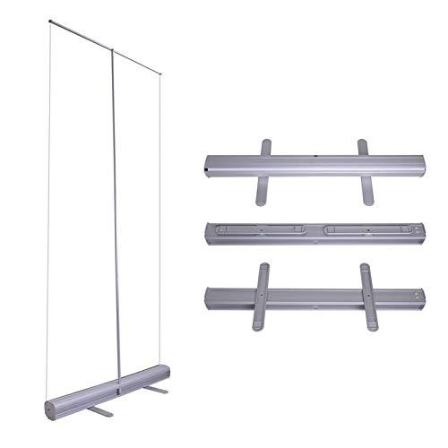 Cnley Aleación de aluminio enrollar la pancarta del piso de la pancarta, enrolla portátil, enrollar la bandera de la bandera de la pancarta de la bandera de la barrera de aluminio retráctil de alumini