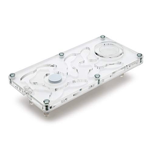 AntHouse - Acryl Ameisenfarm Hori-Acri 9x18x1,3 cm | Pilzfeuchtigkeits-System |mit gratis Ameisen