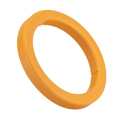 Uszczelka SW-K O-ring do sitka do ekspresów do kawy typ E61 (Ø 73 x 57 x 8 mm (pomarańczowa))