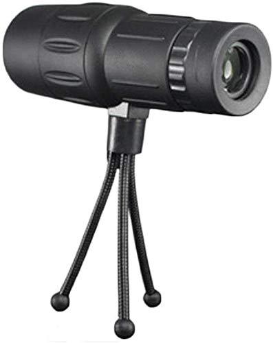 Meyeye Telescoop 10x42 HD Monoculaire Nachtkijker Telescoop Vogelkijker Scope Reflector Telescoop (Kleur : Zwart, Maat : B: Monoculair+Statief)