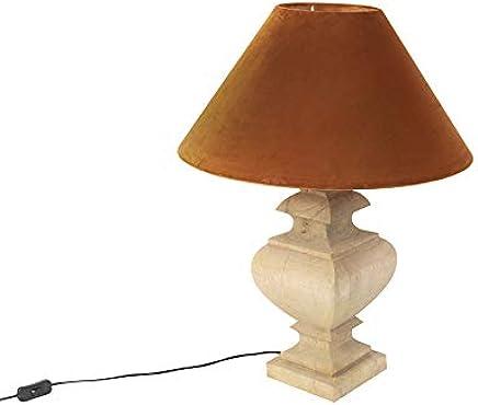 Amazon.es: lámparas rusticas de mesa - Qazqa: Iluminación