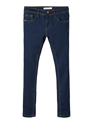NAME IT Jungen Jeans NKMROBIN DNMTHAYER 3157 SWE Pant NOOS, Blau (Dark Blue Denim), (Herstellergröße:140)