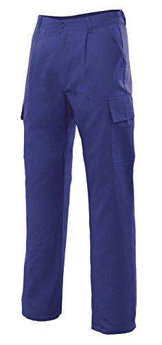 Velilla 31601 Pantalón Multibolsillos, Azul, 46