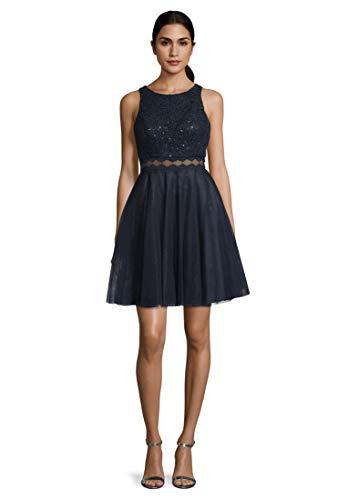 Vera Mont Damen 8085/4990 Kleid, Blau (Night Sky 8541), (Herstellergröße: 36)