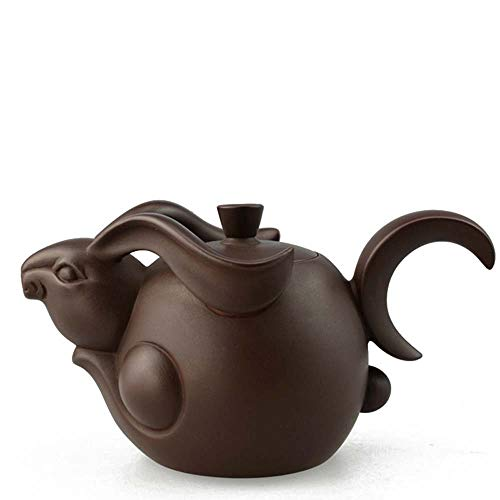 Wanjia Keramik Teekanne Lila Ton Teekanne Porzellan Sternzeichen Keramik Handgeschnitzte Werkzeuge ZishaTea Pot Set Tee-Sets Teezeremonie Geschenk,D